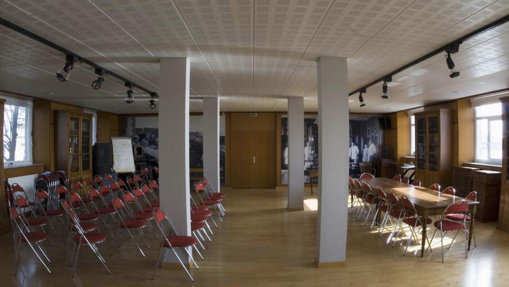 Salle de conférences © MNHN - Station marine de Concarneau