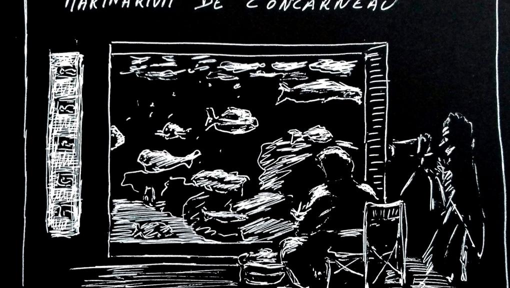 Exposition Le Marinarium Croqué