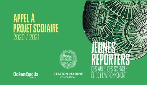 Jeunes Reporters des Arts, des Sciences et de l'Environnement 2020-2021
