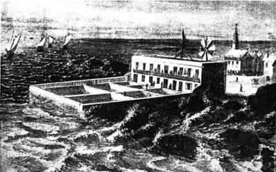 La station en 1859